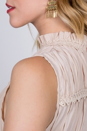 Moon River Mock Neck Top - Side cropped