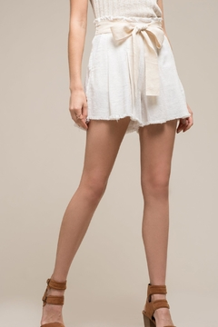 Moon River Penelope Paperbag Shorts - Product List Image