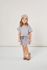Rylee & Cru Moondust Mini Skirt - Front full body