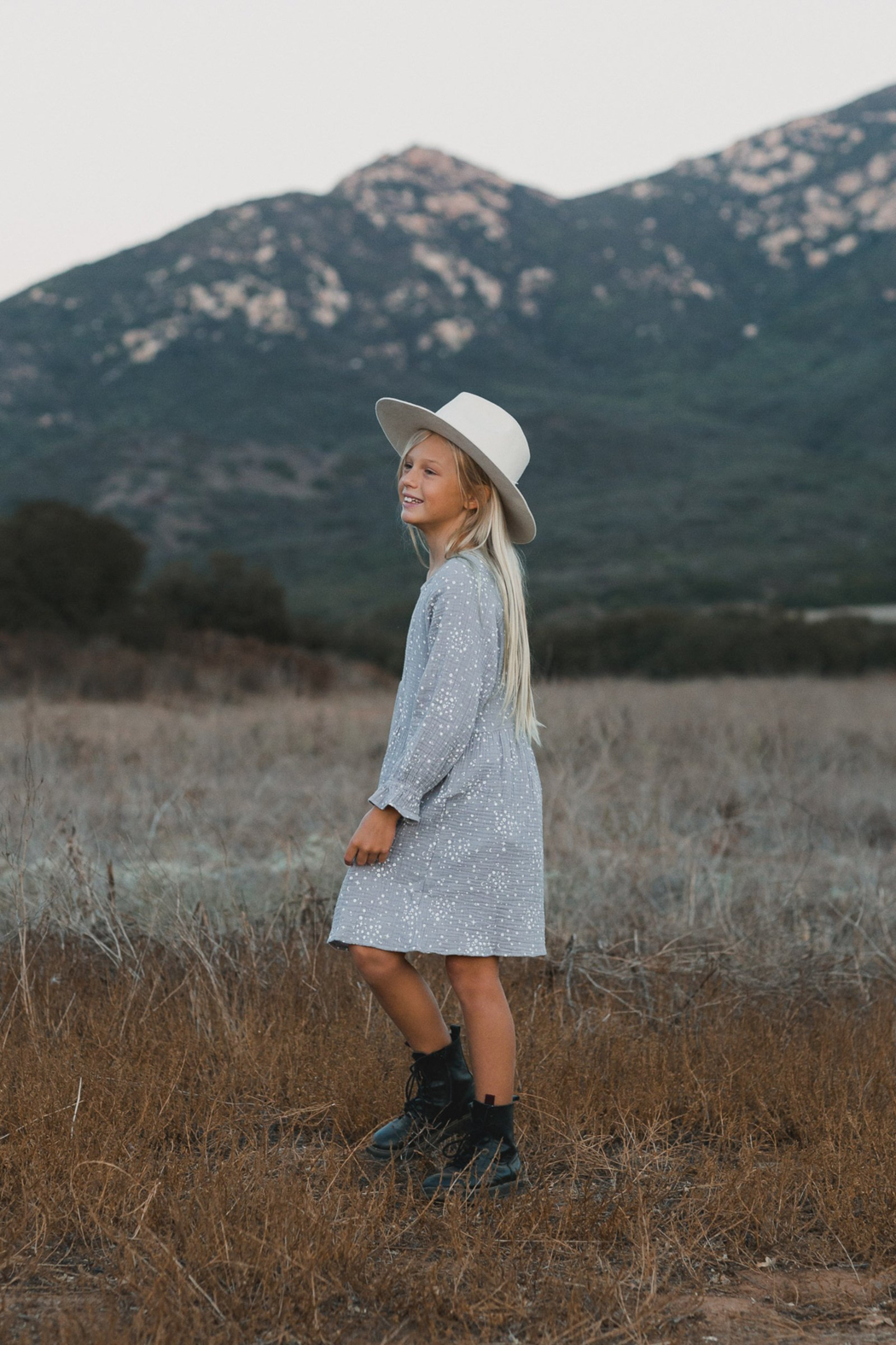 Rylee & Cru Moondust Sadie Dress - Front Full Image