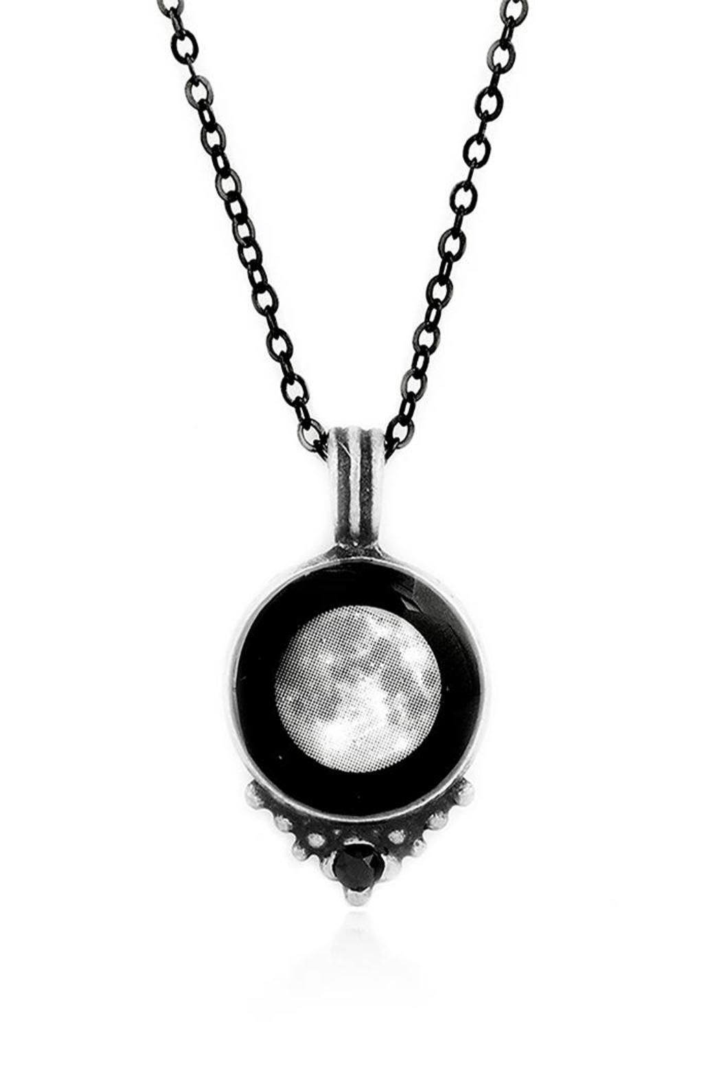 Moonglow Jewelry Personalized Moon Necklace - Main Image