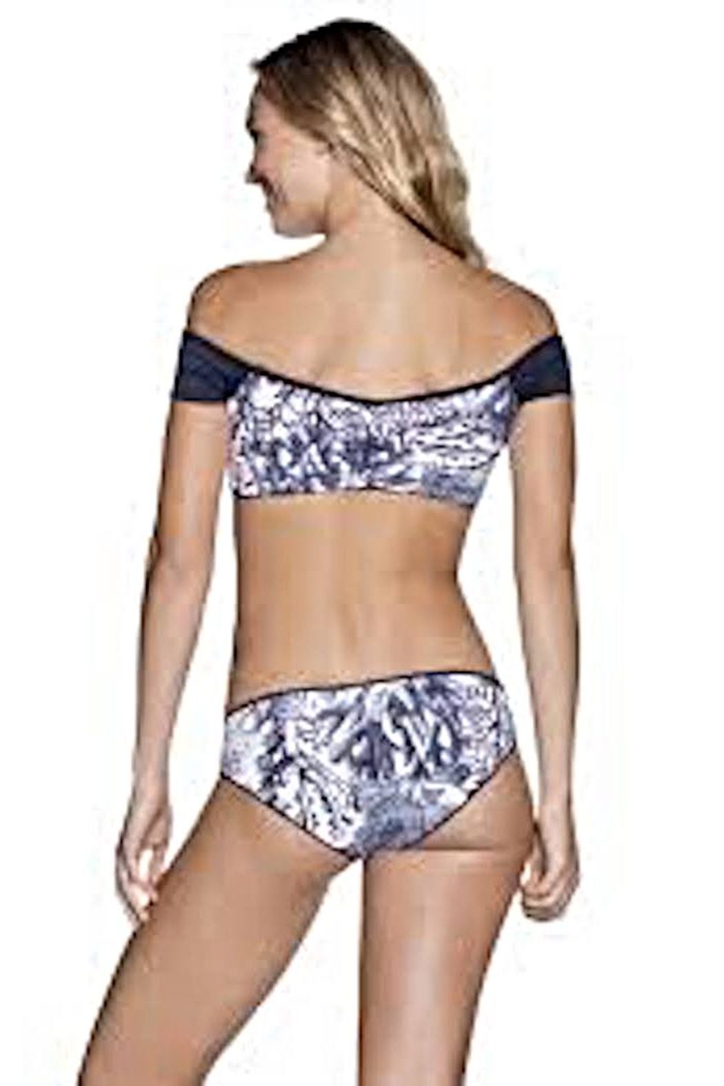 Maaji Swimwear Moonless Cumbia Top - Front Full Image