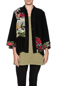 Shoptiques Product: Asian Print Crepe Jacket