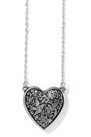 Brighton  Moonlight Garden Heart Necklace - Product Mini Image