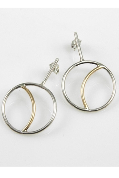 Shoptiques Product: Crescent Moon Earrings
