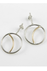 MOONLINE Crescent Moon Earrings - Product Mini Image