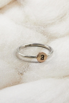 Shoptiques Product: Personalized Initial Ring