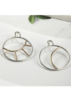 Shoptiques Product: Sun And Moon Earrings