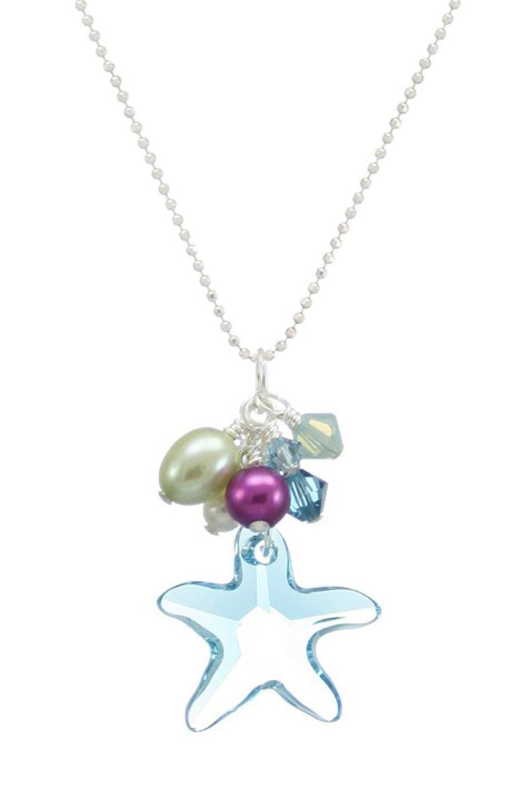 Moonrise jewelry swarovski starfish necklace from virginia beach moonrise jewelry swarovski starfish necklace front cropped image aloadofball Image collections