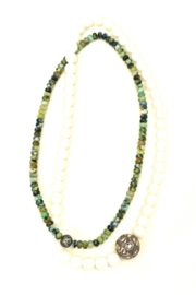 The Woods Fine Jewelry  Pearl African Double Necklace - Product Mini Image