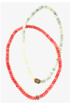 The Woods Fine Jewelry  Moonstone Double Necklace - Alternate List Image
