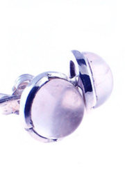 Crystal Earth Moonstone Earring - Product Mini Image