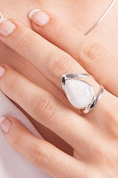 Crystal Earth Moonstone Ring.. - Product List Image