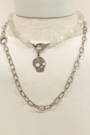 The Woods Fine Jewelry  Moonstone Short Necklace - Product Mini Image