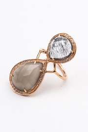 Jacquie Aiche Moonstone Trinity Ring - Product Mini Image