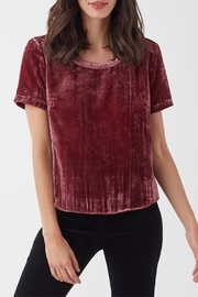 Splendid Moonstone Velvet Tee - Product Mini Image