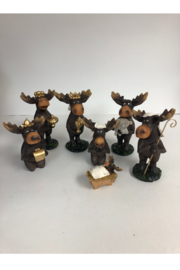Slifka Sales Moose Nativity Set - Product Mini Image