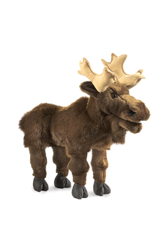 Folkmanis Moose Puppet - Product List Image