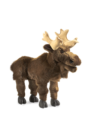 Folkmanis Moose Puppet - Product Mini Image