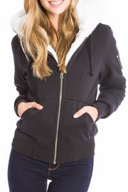 Moose Knuckles  Bunny Hooded Sweater - Product Mini Image