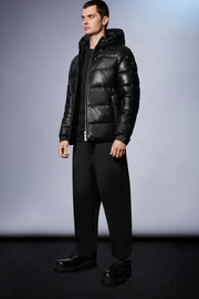 Moose Knuckles  Keg River Leather Puffer - Product Mini Image