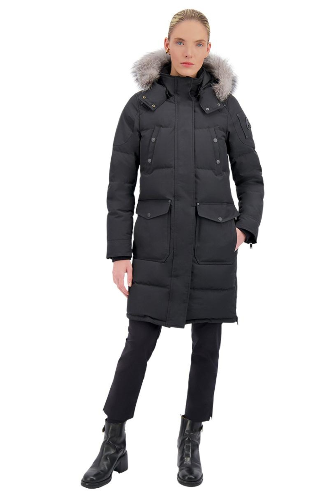 Moose Knuckles  Causapscal Ladies Parka - Front Full Image