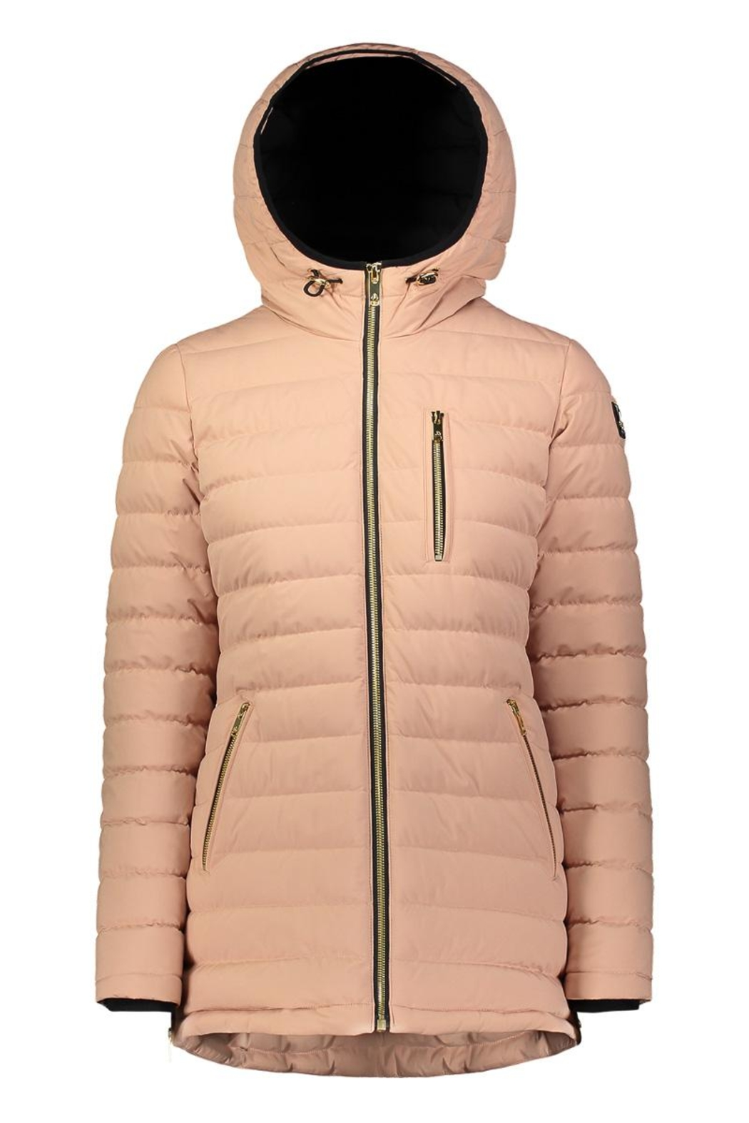 Moose Knuckles  Rockcliff Ladies Lightweight Down Jacket - Front Cropped Image