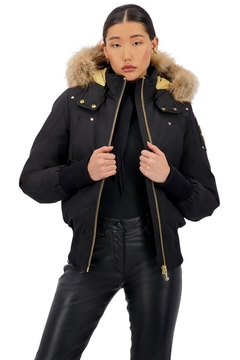 Moose Knuckles  Sainte Flavie Ladies Bomber - Alternate List Image