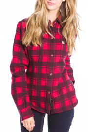 Moose Knuckles  Rocker Jenny Flannel Shirt - Product Mini Image