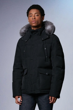 Moose Knuckles  Round Island Jacket Black With Frost Fur - Product List Image
