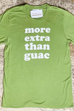 Nellie Mae More Extra Than Guac Tee - Alternate List Image