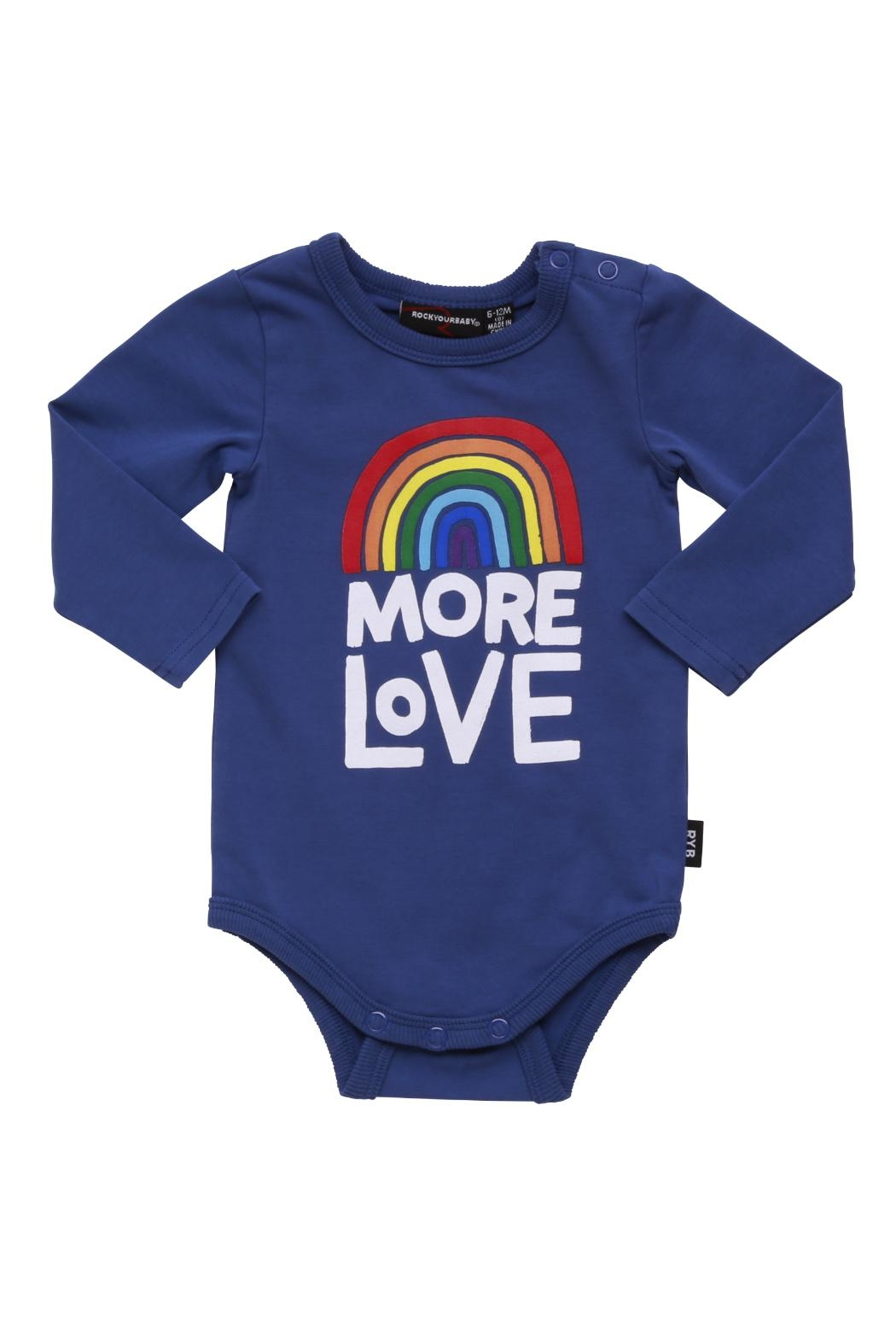 Rock Your Baby More Love Bodysuit - Main Image