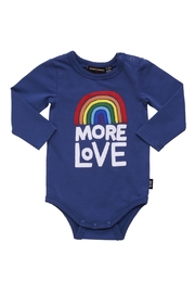 Rock Your Baby More Love Bodysuit - Front full body