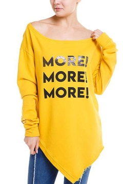 Shoptiques Product: More More Tee