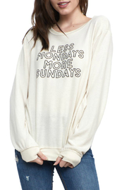 Social decay More Sundays Soft Pullover - Product Mini Image