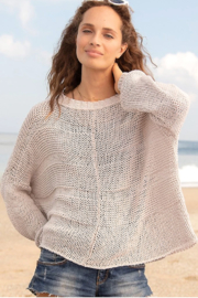 Wooden Ships Morgan Crewneck Sweater - Back cropped