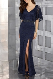 Morilee Lace Evening Gown - Product Mini Image