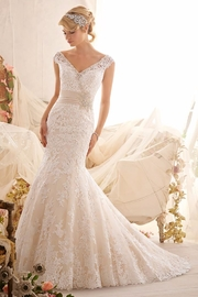 Morilee Lace Mermaid Bridal Gown - Product Mini Image