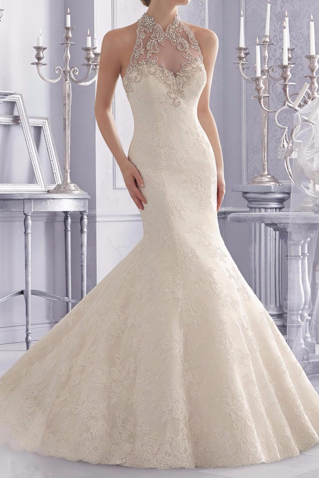 Morilee Halter Top Bridal Gown from North Dakota by BridalNMore ...