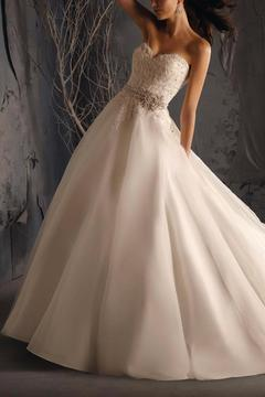 Shoptiques Product: Strapless Bridal Ball Gown