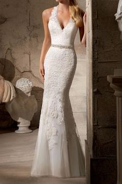 Shoptiques Product: Sleeveless Mermaid Bridal Gown