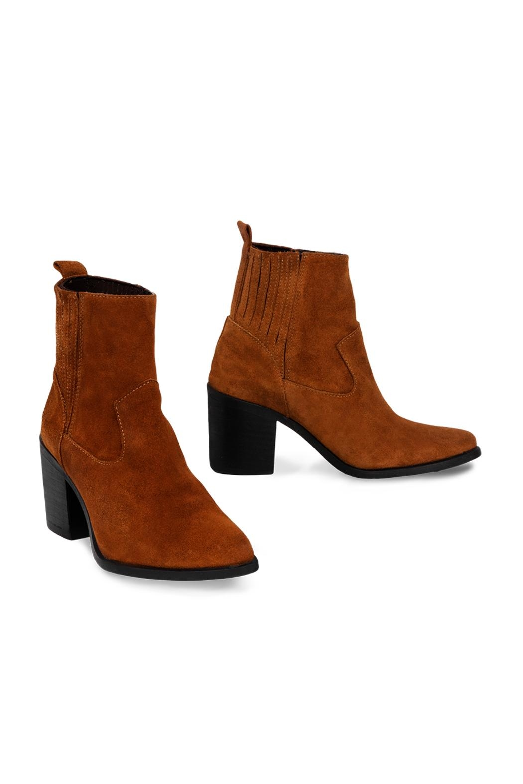 Morkas Shoes Ankle Boot Gibson - Front Full Image