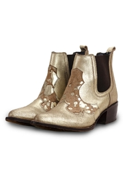 Morkas Shoes Ankle Boots Golden Leather - Product Mini Image