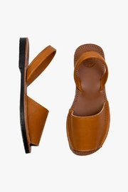 Morkas Shoes Avarca Camel - Front full body