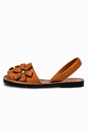 Morkas Shoes Avarca Camel Flowers - Product Mini Image