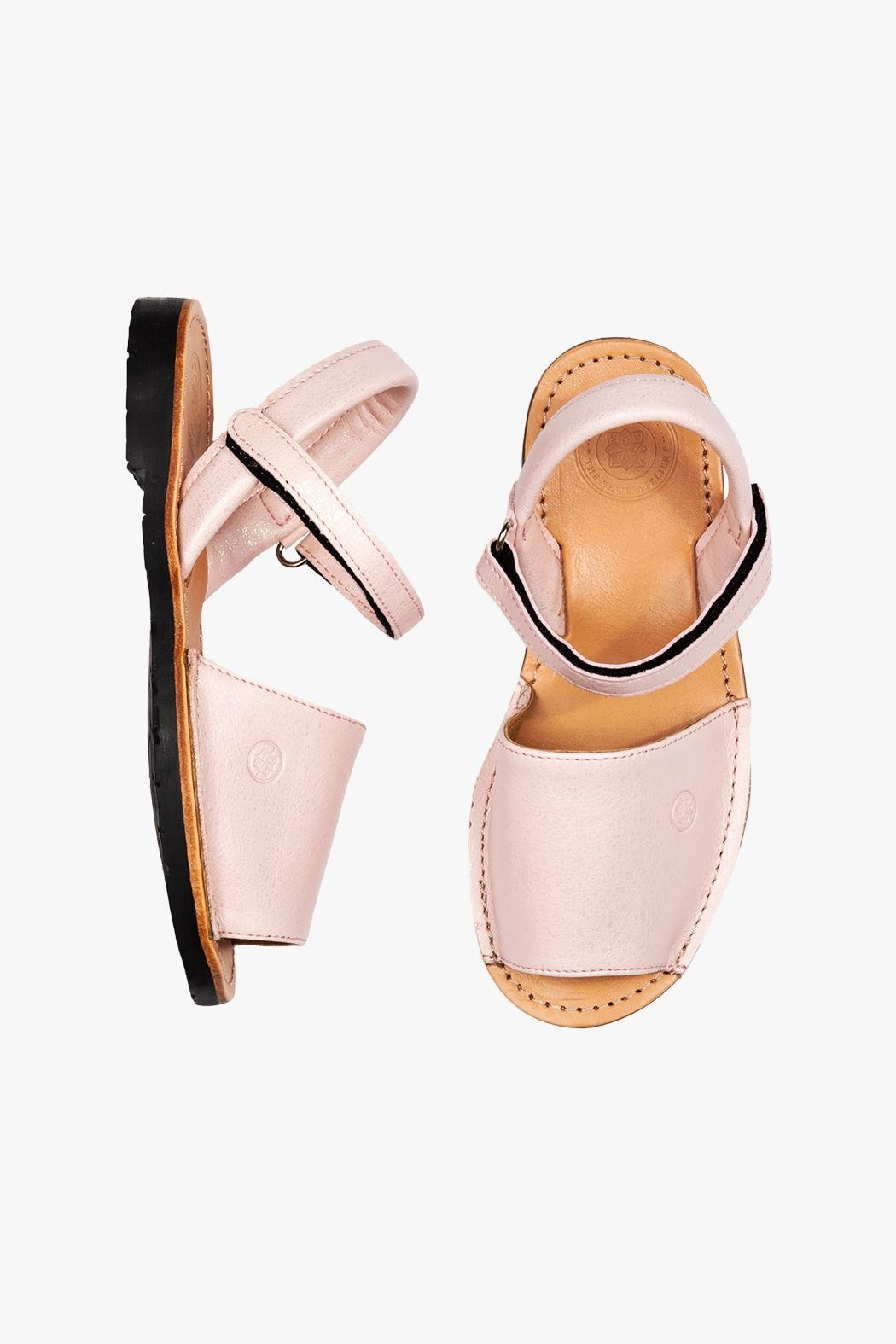 Morkas Shoes Avarca Kids Pinkly - Front Full Image