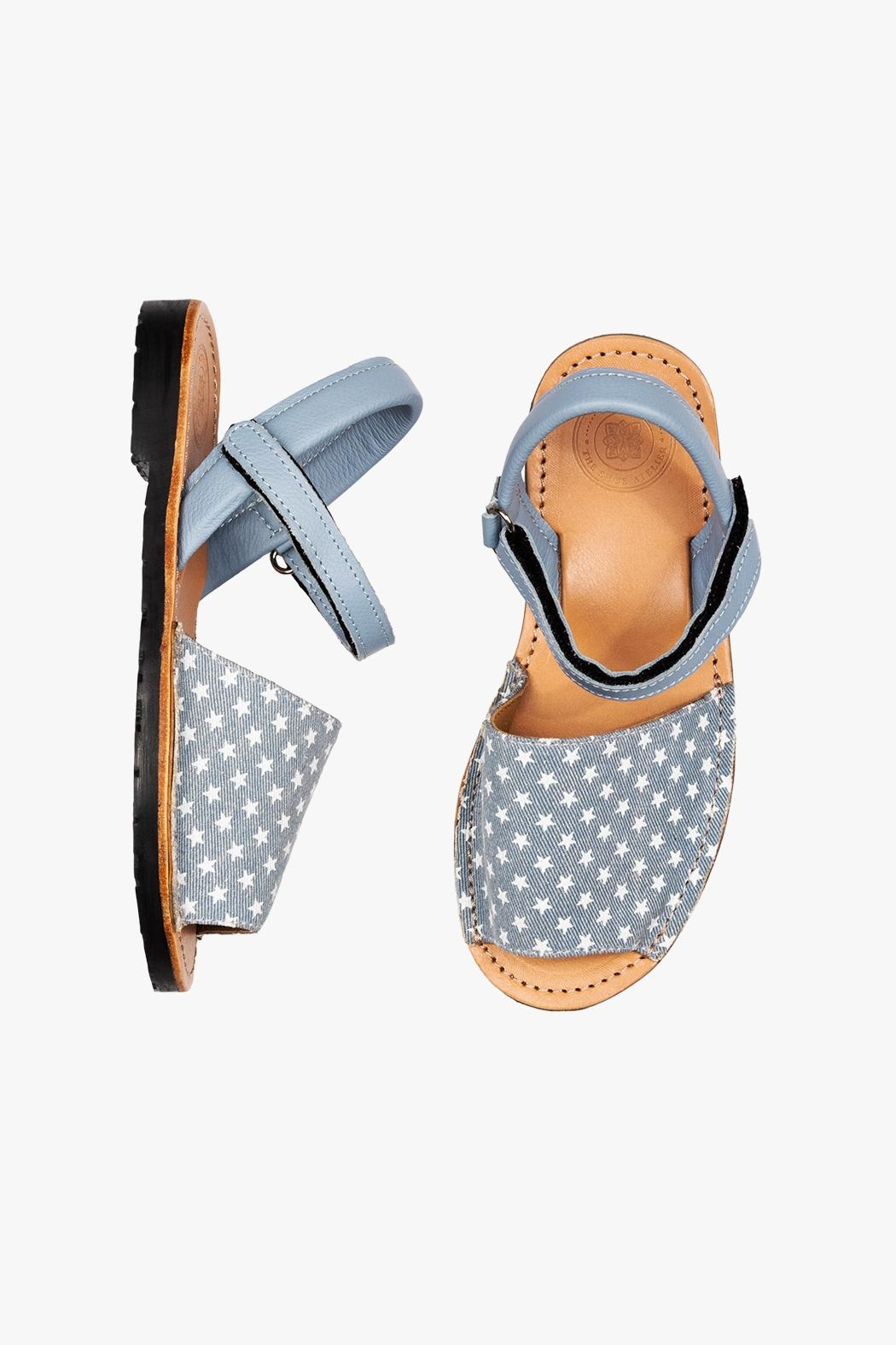 Morkas Shoes Avarca Kids Stars - Front Full Image
