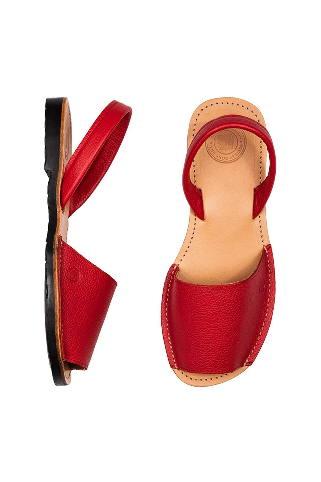 Morkas Shoes Avarca Red - Front Full Image