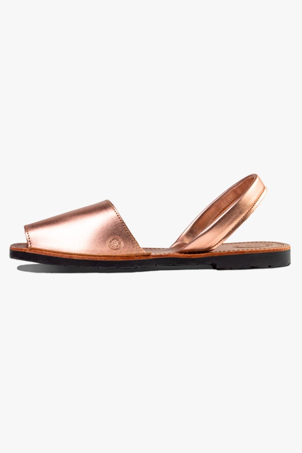 Morkas Shoes Avarca Rose Gold - Front Cropped Image