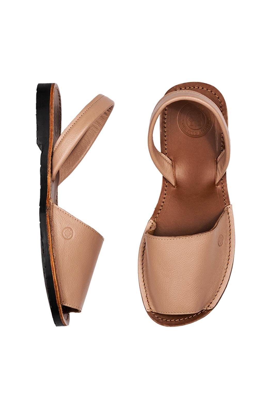 Morkas Shoes Avarca Taupe - Front Full Image
